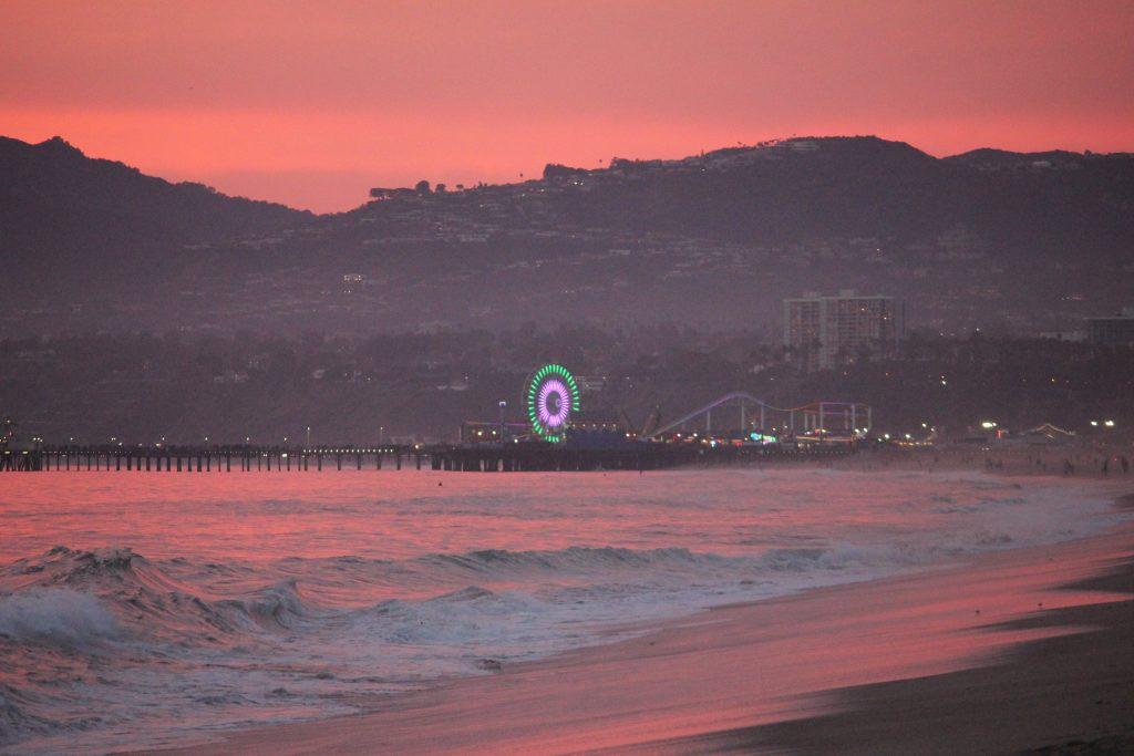 Pink Mood – Big Wheel, Santa Monica (2017)