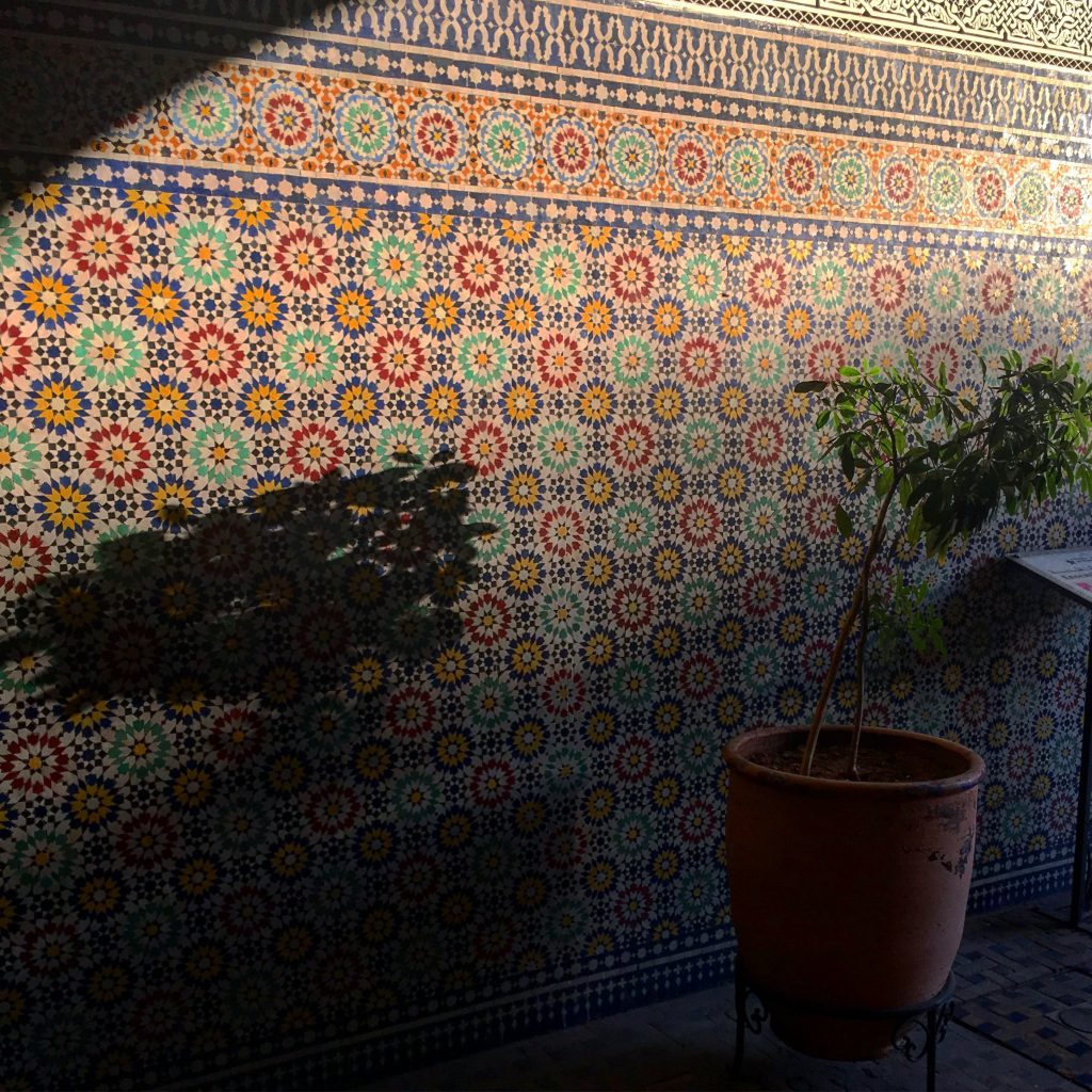 Schatten, Marrakesch (2017)