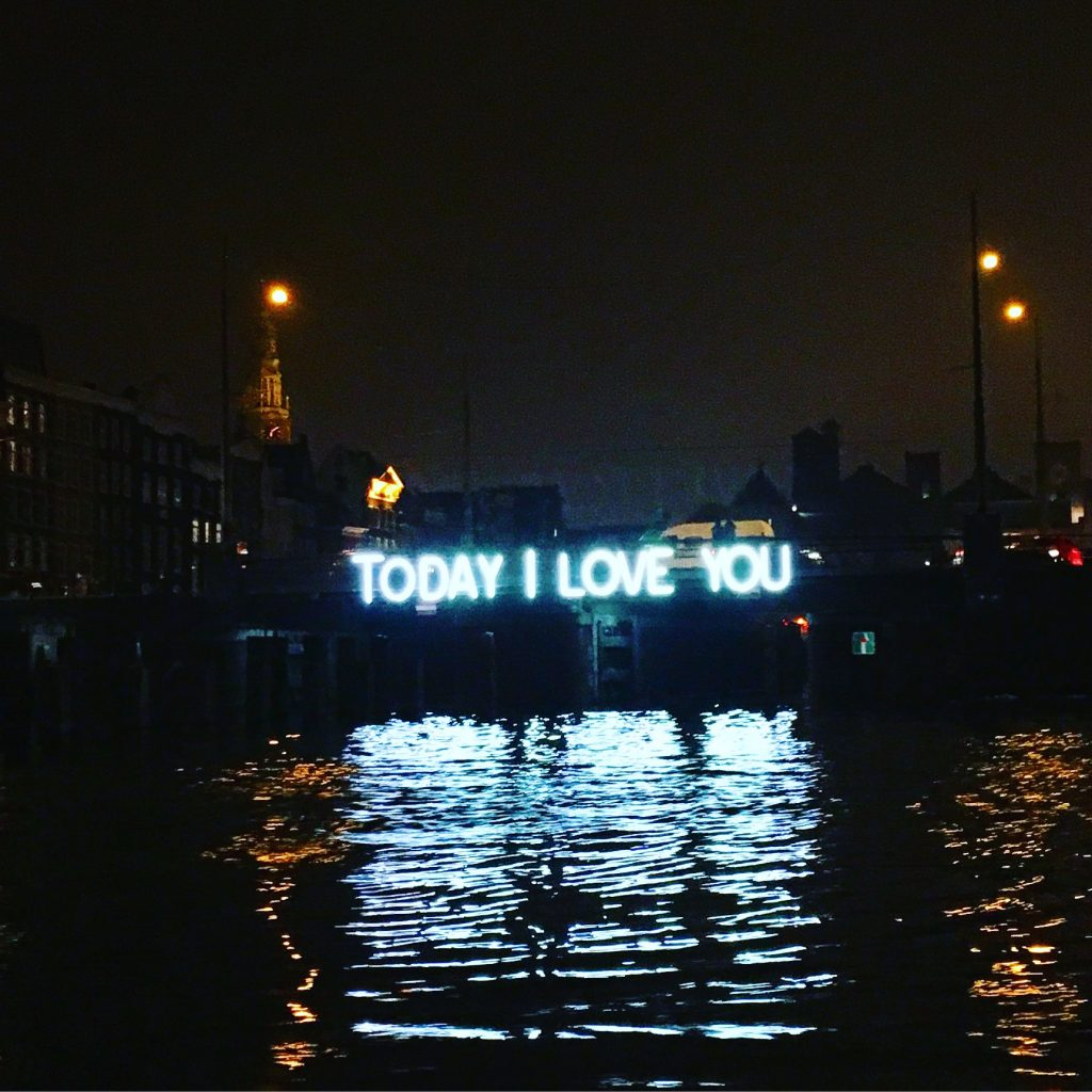 Today I Love You, Amsterdam (2015)