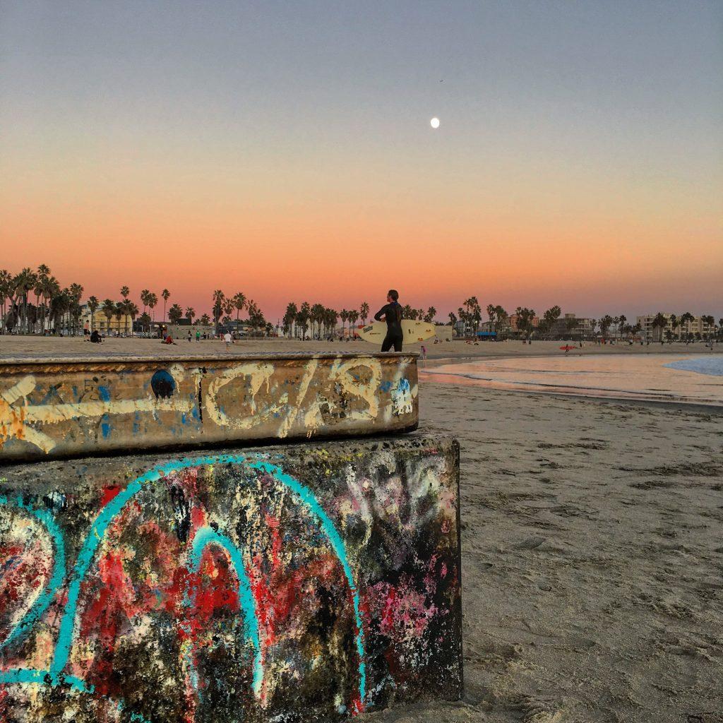 Waiting Surfer, Venice Beach (2015)